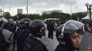 КНБ и полиция защищают воров, засевших в Акорде/ БАСЕ