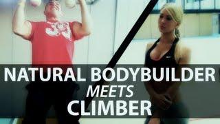 Natural Bodybuilder Meets Climber (eng sub)