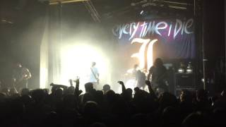 "Every Time I Die - ""Underwater Bimbos From Outer Space"" Live @ The Observatory 2-19-17"