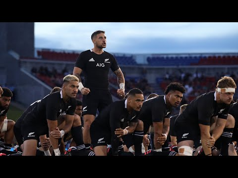 All Blacks homenajearon a Diego