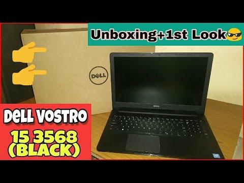 Dell Vostro 15 3568 - Unboxing & Quick Review (Amazon Unit)