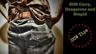 Concealed Carry Tips, Small of the Back Carry