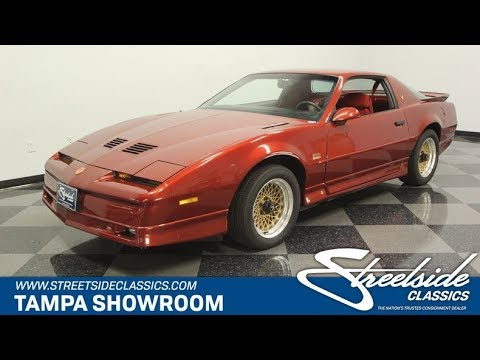 Video of '87 Firebird - PPWV
