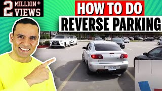 REVERSE PARKING SIMPLIFIED| Method 1 || Toronto Drivers