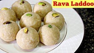 Rava Laddoo - Easy Diwali Sweet Recipe | Ravva Laddu|Indian Recipes | Sruthis Kitchen