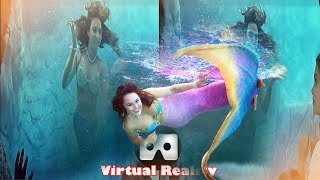 3D GoPro MERMAID VR Videos 3D SBS Google Cardboard VR Virtual Reality VR Box