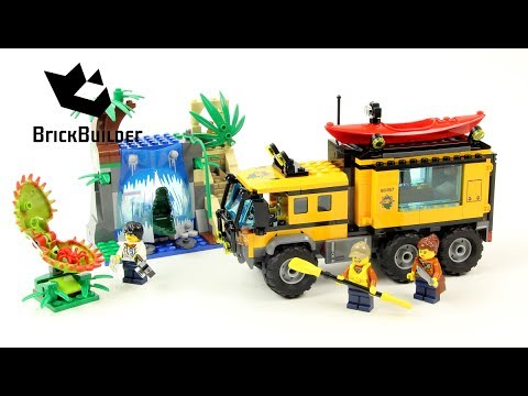 Vidéo LEGO City 60160 : Le laboratoire mobile de la jungle