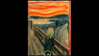 Visual Analysis of Edvard Munch's The Scream
