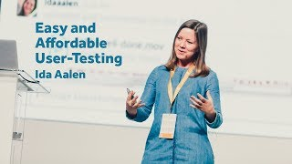 Easy and Affordable User-Testing – Ida Aalen / Front-Trends 2017