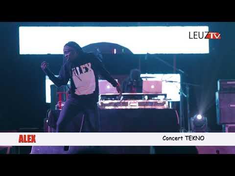 Vidéo: Waouh !!! Alex assure le show au concert Tekno