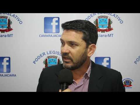 Entrevista do vereador Antônio Zanin (Solidariedade) - 12/03/2019.