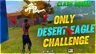 Only Desert Eagle Challenge || FREE FIRE || DESI GAMERS