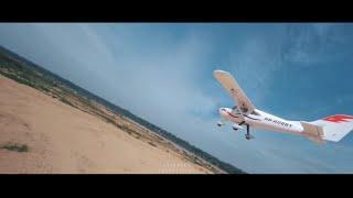 FPV Drone Kejar Kapal Terbang & CRASH! — Mid Air Collision