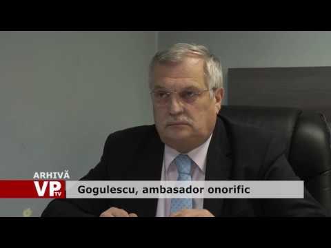 Gogulescu, ambasador onorific