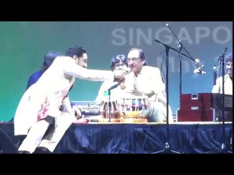 ghazal videos: tabla played by ustad ghulam ali khan! never seen before Download Song Mp3