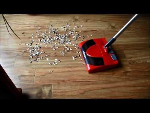 Vileda e-sweeper test