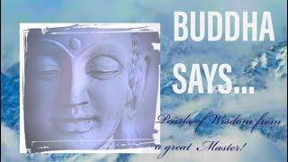Buddha Says! || Buddha Quotes ! || Peaceful Meditation Music.