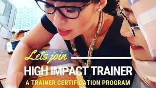 High Impact Trainer 2019