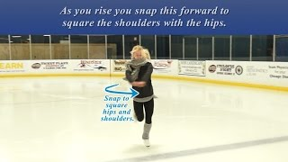 89. Twizzles:  Forward Outside Twizzle + Skating Tip 3
