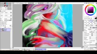 Let's Draw: Technicolor Cherryblossom Love