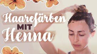 HENNA zum HAAREFÄRBEN - Haarroutine-Update 2021 | Hennafarbe, Nachhaltig, Vegan, Tierversuchsfrei
