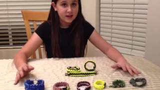 My children selling Paracord Bracelets