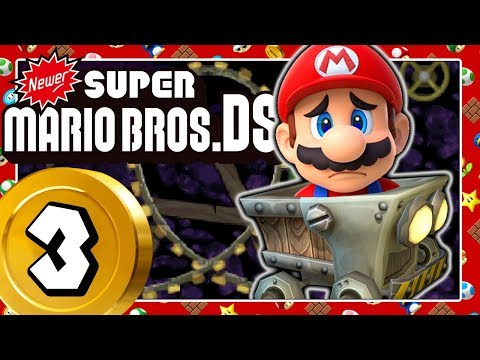 NEWER SUPER MARIO BROS. DS Part 3: Marios Minecart Madness