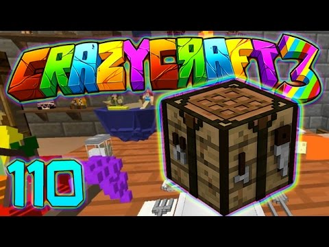 Minecraft Crazy Craft 3.0: DECOCRAFT MAGIC, MAKING AWESOME ITEMS MOD! #110 (Modded Roleplay)