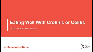 Eating Well With Crohns Or Colitis