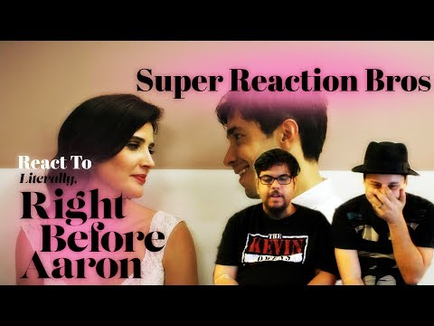 SUPER REACTION BROS REACT & REVIEW Literally, Right Before Aaron Trailer!!!! | MTW