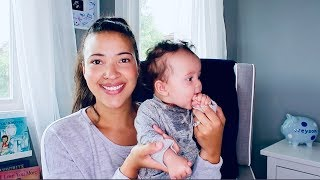 4 Month Old Baby Update | Teething