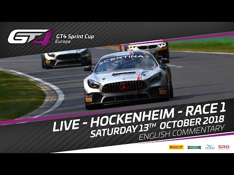 Race 1 - Hockenheim -  GT4 Sprint Cup Europe 2018
