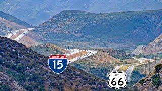 Route 66 Through the Cajon Pass