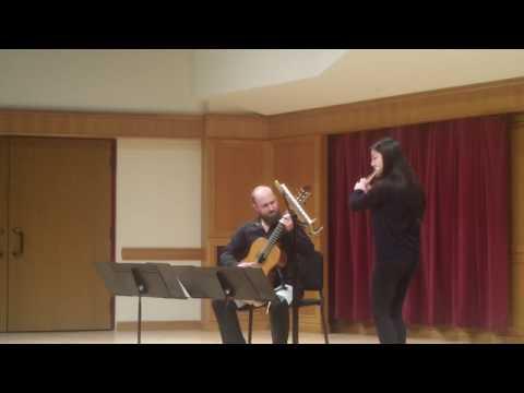 Sonatina for Guitar & Flute - Mario Castelnuovo-Tedesco. Performed in Denver, CO