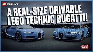 شاهد: سيارة ليجو تتسع لراكبين مصنوعة من أكثر من مليون مكعب