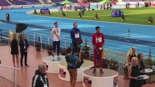 Slovenska himna Luka Janežič 400 m