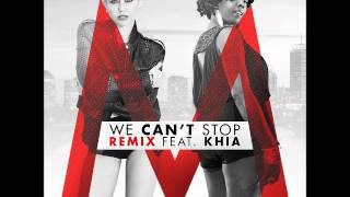 Miley Cyrus feat. Khia - We Can't Stop (Official Remix)