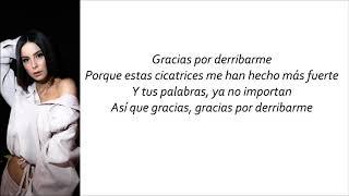 Lena - Thank You (Letra en español)