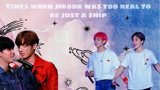 Times when Jikook was too real to be just a ship