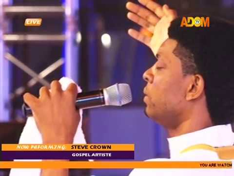 Steve Crown's Performance @Adom Praiz 2017 on Adom TV (6-10-17)