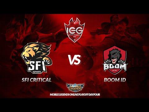 [Live] SFI CRITICAL vs BOOM ID | IEG 2018 - MLBB | Online Playoffs Day Four