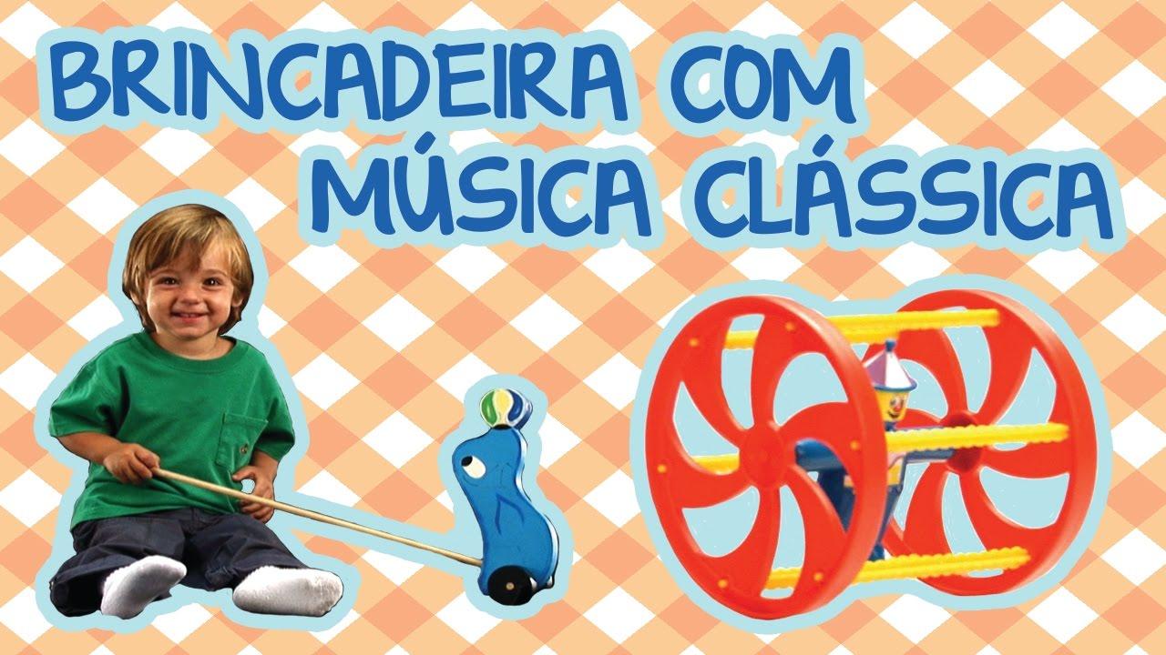 BRINCADEIRA COM MÚSICA CLÁSSICA | BEBÊ MAIS NÚMEROS