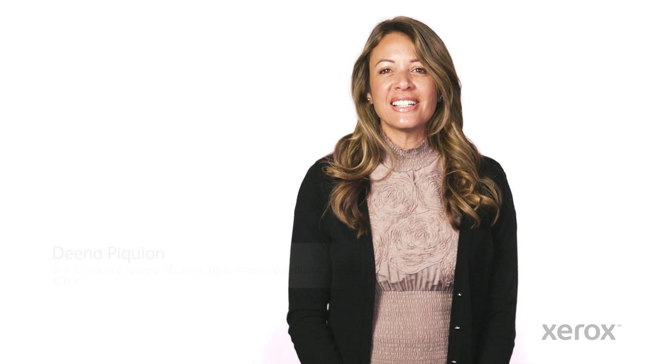 Celebrando a la Mujer en el Trabajo en Xerox YouTube Video