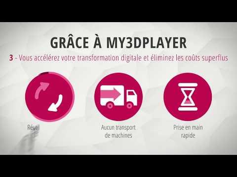 my3Dplayer – Donnez vie à vos modèles 3D