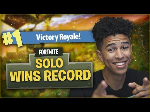 MY *NEW* SOLO WINS RECORD! BACK-2-BACK BLITZ MODE! Fortnite Battle Royale