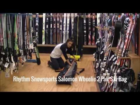 Salomon Wheelie 2 Pair Ski Bag