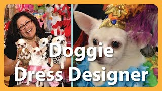 Meet The Doggie Dress Designer Whose Fashions Have Inspired So Many!
