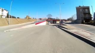 Przejazd przez węzeł komunikacyjny w Krośnie