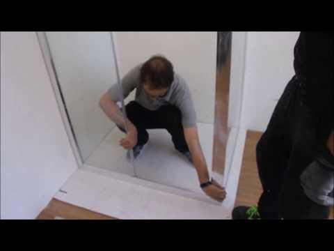 Guida montaggio box doccia scorrevole