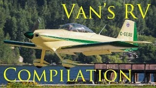 Van's RV Aircraft Kit Plane Compilation